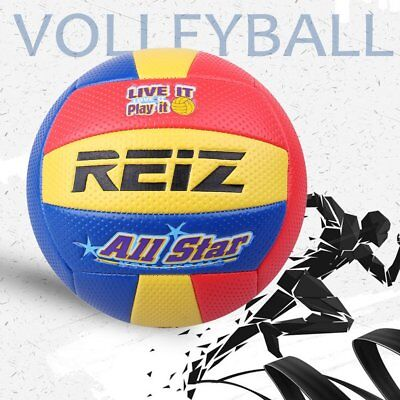 Soft Touch PU Leather 5# Volleyball Ball Training Competition Volleyball Ball ID