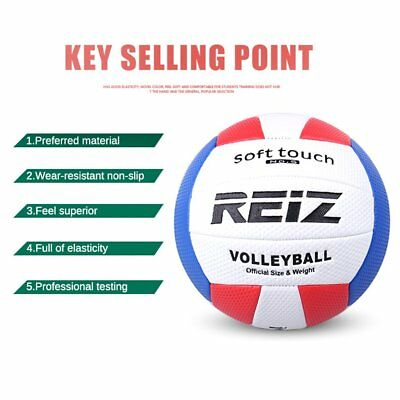 Soft Touch PU Leather 5# Volleyball Ball Training Competition Volleyball Ball IG