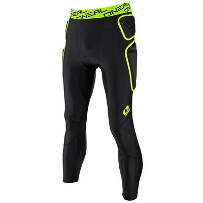 Oneal NEW Mx Gear Trail Lime Black Under Armour MTB Motocross Padded Pants