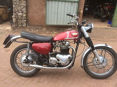 Matchless G15CS motorcycle from USA maching numbers Norton 750 1966 more landing