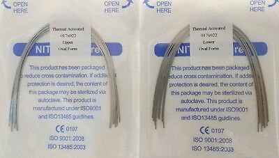 Orthodontic Arch Wire Thermal Activated Rectangular Niti 17X22 U/L Dental 10Pks