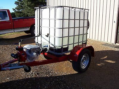 fire fighting unit on trailer
