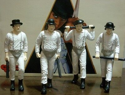 Stanley Kubrik's Clockwork Orange resine figure complete set NEW in generic box