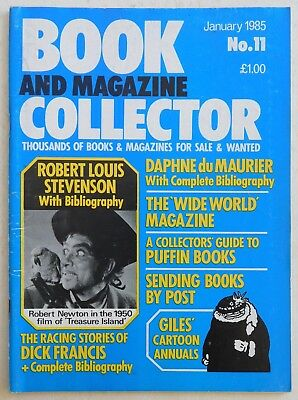 BOOK & MAGAZINE COLLECTOR #11 - 1/1985 - Dick Francis, Giles Annuals