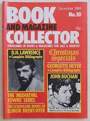 BOOK & MAGAZINE COLLECTOR #10 - 12/1984 - D.H.Lawrence, John Buchan