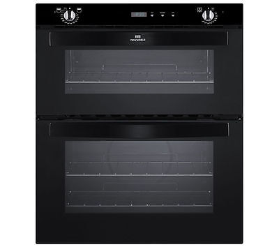 NEW WORLD NW701DOP Electric Built-in Double Oven - Black