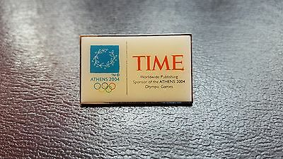 Time / Olympics Athens 2004 / Badge