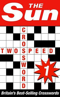The Sun Two-speed Crossword Book 1 by The Sun (Paperback) NEW