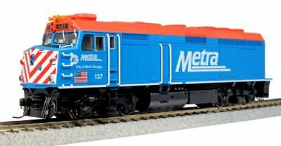 Kato USA Model Train Products 137 EMD F40PH Chicago Metra City of West Chicag...