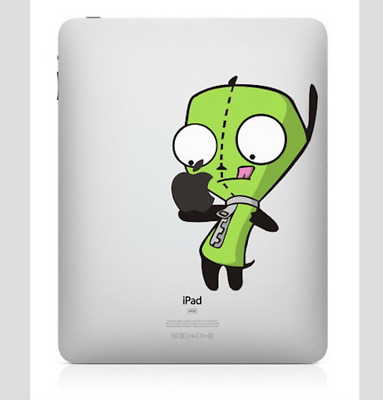 Gir Big Mouth iPad 1/2/3/4 Vinyl Sticker Skin Decal Back Cover