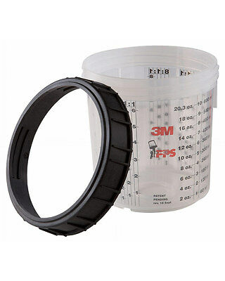 3M Standard Paint Mixing Cup & Collar (Pack of 2) [16001]