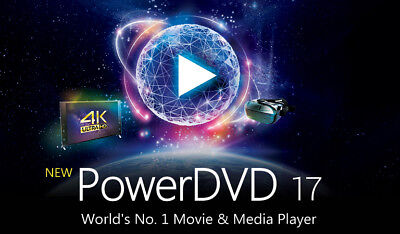 Cyberlink Power DVD 17. OEM **Instant Delivery**