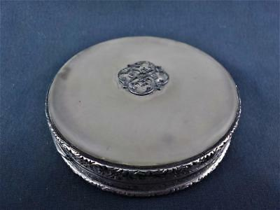 Sterling silver  powder compact French Import P.H,Vogel London 1928 c