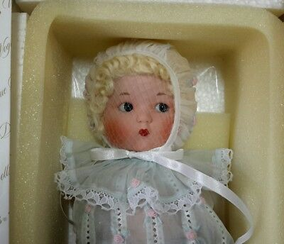 Just me The Vogue Doll company.  2002 all porcelain. 14 nch in Blue