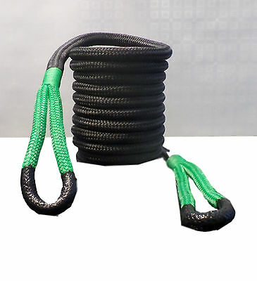 18mm Kinetic recovery snatch rope KERR, 8 Metre long off road land rover 4x4