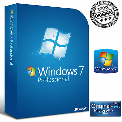 Licenza Windows 7 Pro Professional No Oem 32/64 Bit Key Originale Esd