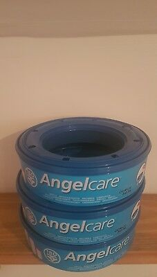 3 x Angelcare refill cassettes