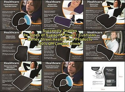 Contour Pillow Travel Pillow Memory Foam Seat Cushion Lumber Pillow Neck Support