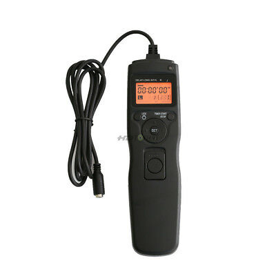 RST Timer Remote Control Cord For Sony RX100 M5 M4 A7 A7R M2 A5100 A6300 A6500