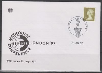 Great Britain Sc. MH243 Methodist Conference on 1977 Methodist Society FDC