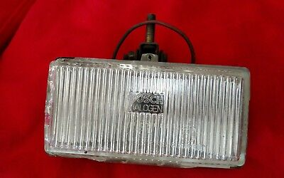 Vintage Used Bosch LE17 Fog Driving Lamp E1 Halogen for parts or refurbish