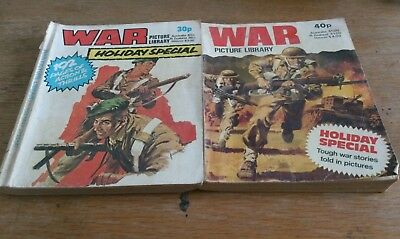 2 War Picture Library Holiday Specials, 1978/80