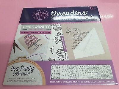 Crafters Companion Threaders Embroidery Transfer Sheets