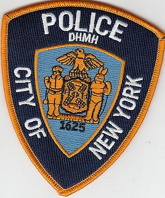 New York Dhmh Department Health Mental Health Police Patch Ny