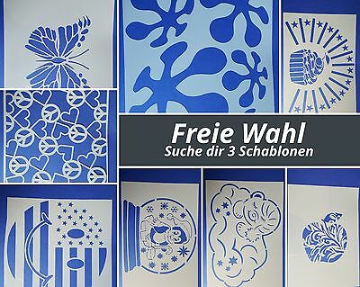 OFFRE libre choix V 20 POCHOIRS Mylar shabby meubles Stickers murales