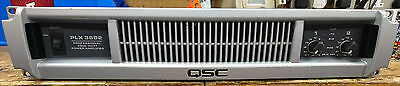 QSC PLX 3602 Professional 3000 Watt Power Amplifier - Lightweight!