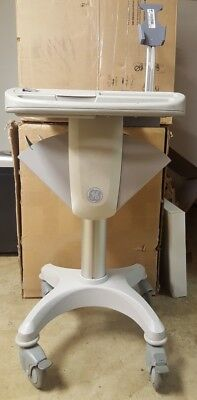GE Marquette MAC ECG / EKG medical equipment cart mobile tray trolley stand