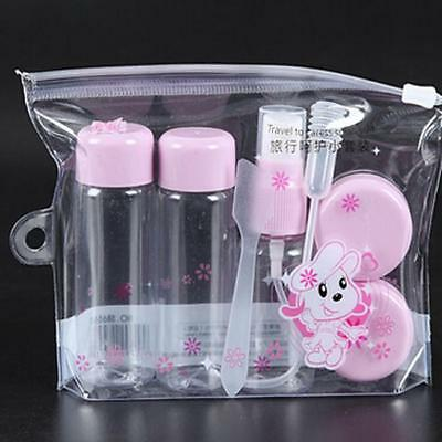 7x/Set Travel Kit Empty Lotion Cosmetic Makeup Case Container Spray Bottle Pot H