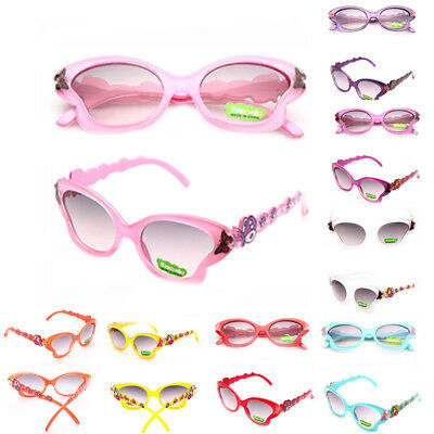 Cartoon ANTI-UV Butterfly Shades Eyeglasses Girls Toddlers Boys Sunglasses Kids
