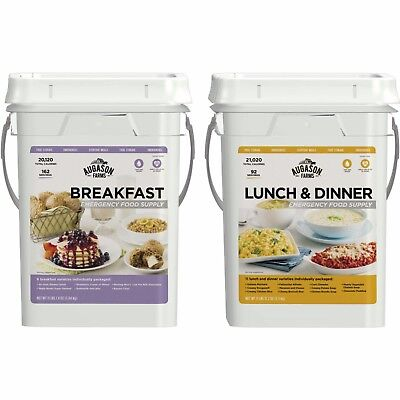 Augason Farms Breakfast/Lunch & Dinner Variety Pack Emergency Food Supply