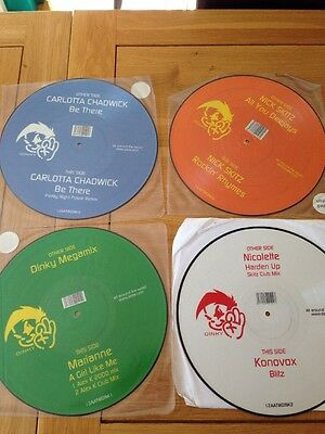 "All around The World 12"" Picture Disc Bundle Hard House Donk"
