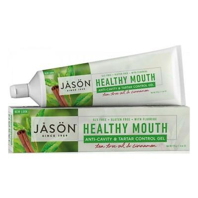 Jason Organic Toothpaste Gel CoQ10 Healthy Mouth Tartar Control Anti-Cavity 170g