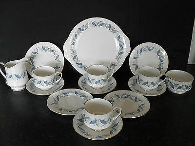 "Royal Standard ""trend"" English Bone China Tea Set Coffee Set Vintage Retro"