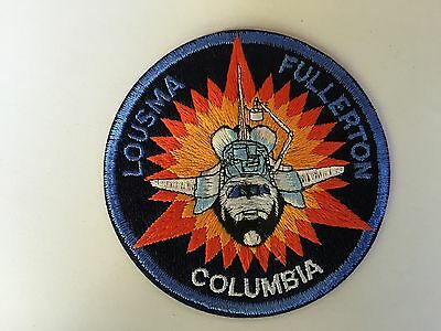 Aufnäher Patch Shuttle Columbia Patch - STS-3 - Lousma Fullerton