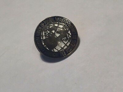 Vintage Canadian Union of Postal Workers Sterling Silver Pin