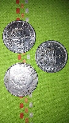 monete $3 PESOS MONETA CHE GUEVARA VERY RARE WORLD COIN