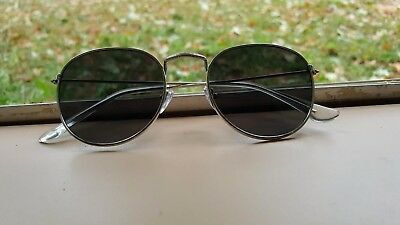 cd0a360175 Round Oval Style Men Women Sunglasses Metal Frame Small Lens Fashion Shades