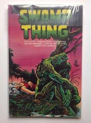 Swamp Thing by Alan Moore Volume Four Graphic Novel DC Comics Titan Books