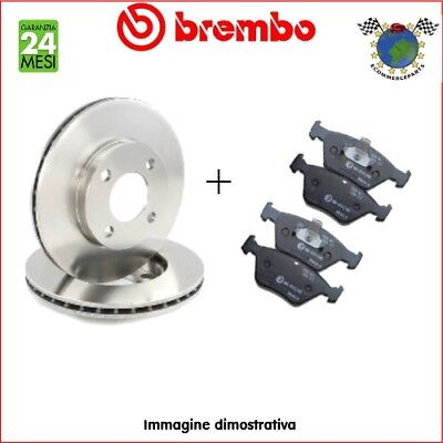 Kit Dischi e Pastiglie freno post Brembo FORD FIESTA FOCUS #p