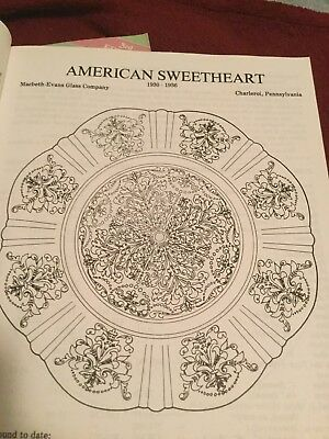 American Sweetheart Pink Depression Glass Dinner Plate MacBeth Evans