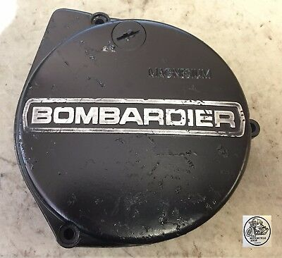 1981 Can-Am Qualifier Bombardier 175 Stator Cover Oem