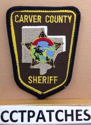 Carver County, Minnesota Sheriff Small (Police) Shoulder Patch Mn