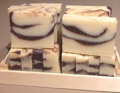 100% Handmade And Natural Olive And Coconut Oil Soap Bar Unscented