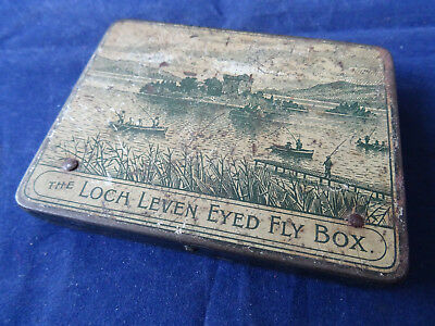 An Early Vintage Wheatley Loch Leven Eyed Fly Box