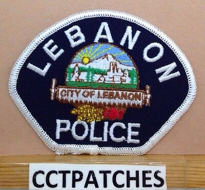 Lebanon, Oregon Police Shoulder Patch Or