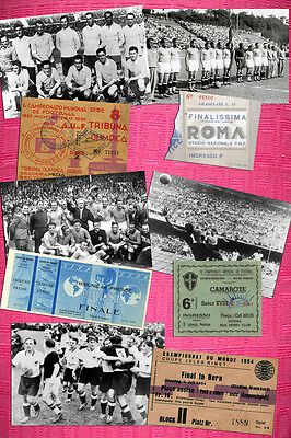 Wow! The 20 Fifa World Cup Photo/ticket Set Together 1930 - 2014 + Free Shipping